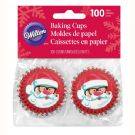 Mini Baking Cups Sweet Holiday Sharing pk/100
